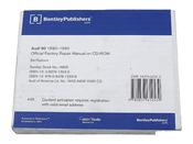 Audi CD-ROM Repair Manual - Bentley AU8059050