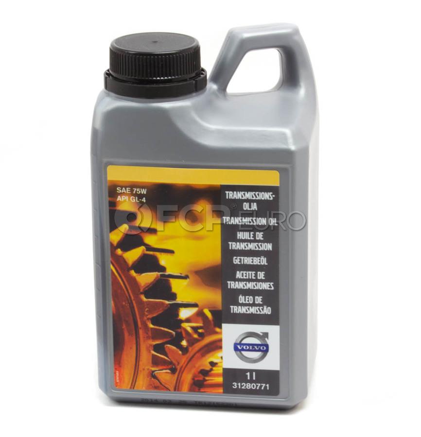 Volvo Manual Transmission Fluid (1 Liter) - Genuine Volvo 31280771