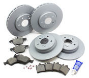 Mercedes Brake Kit - Zimmermann CLK320BRAKEKIT2
