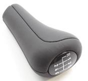 BMW 6-Speed Leather Manual Transmission Shift Knob - Genuine BMW 25117523817