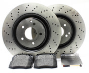 Mercedes Brake Kit  - Zimmermann W203AMGFBK1