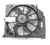 BMW Cooling Fan Assembly - Mahle Behr 17117561757