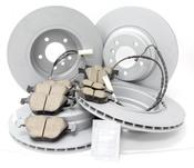 BMW Brake Kit - Zimmermann/Akebono 34116855000KTFR13