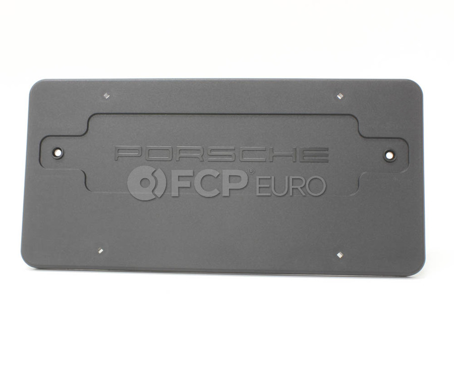 Porsche License Plate Base - Genuine Porsche 99670110700