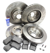 Mercedes Brake Kit Comprehensive (S600 CL600) - Zimmermann W220AMGFRBK1