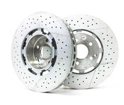 Mercedes Performance Package Brake Kit - Zimmermann AMGP31BK1