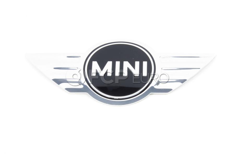 Mini Cooper Emblem Adhered (Mini)(Cooper Cooper Countryman Cooper Paceman) - Genuine BMW 11127594876