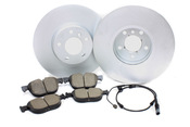 BMW Brake Kit - Zimmermann/Akebono 34116793245KTF3