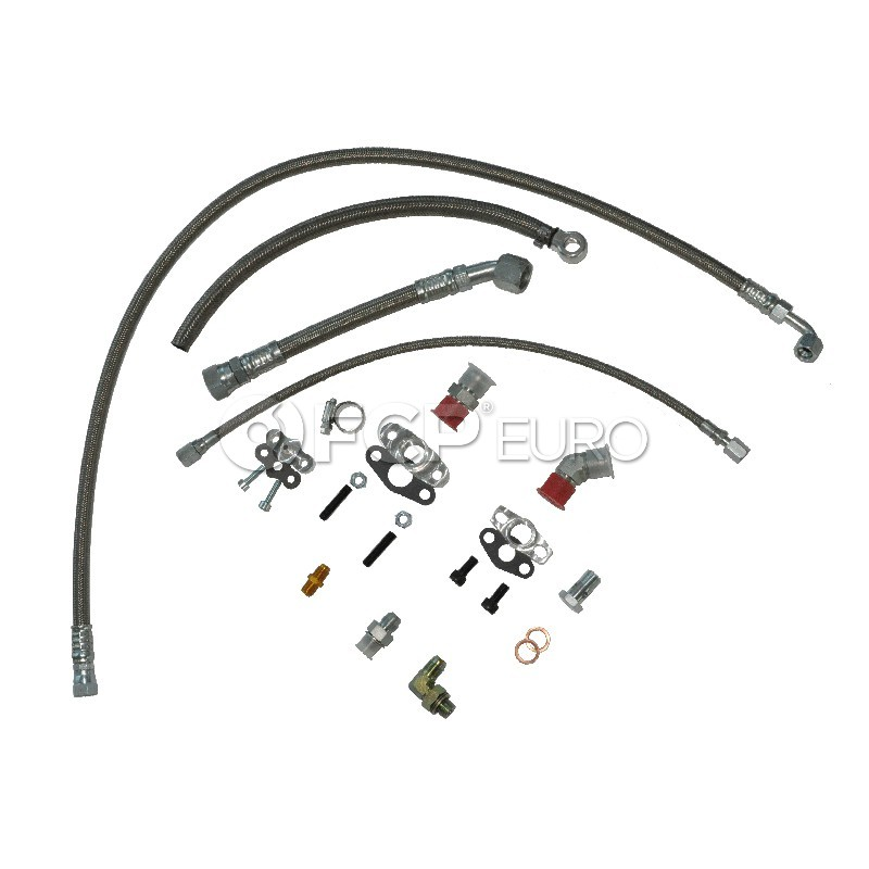 Audi Oil & Water Line Kit - 034Motorsport 0341108005