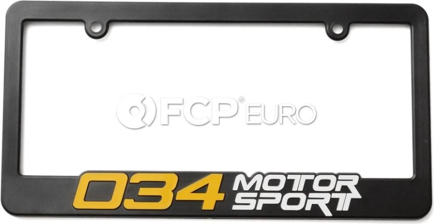 Audi VW License Plate Frame 034Motorsport - 034A030000