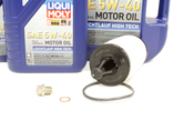 Mercedes Oil Change Kit 5W-40 - Liqui Moly 2761800009.7L.ML