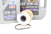 BMW Oil Change Kit 10W-40 - Liqui Moly 11427833769KT3.LM