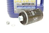 VW Audi Oil Change Kit 5W-40 - Liqui Moly KIT-06J115403Q