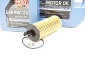 BMW Diesel Oil Change Kit 5W-30 - Liqui Moly 11428507683KT.LM.7L
