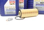 Mercedes Oil Change Kit 5W-40 - Liqui Moly 2781800009.8L.V3