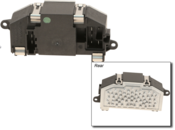 Audi HVAC Blower Motor Resistor - Valeo 3C0907521F