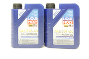BMW 5W40 Oil Change Kit - Liqui Moly 11427512300KT5