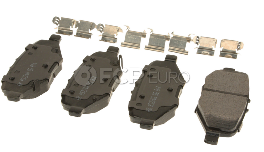 VW Brake Pad Set - Akebono 7B0698451G