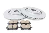 Audi VW Brake Kit - Zimmermann/Akebono S4REARBKZIMM