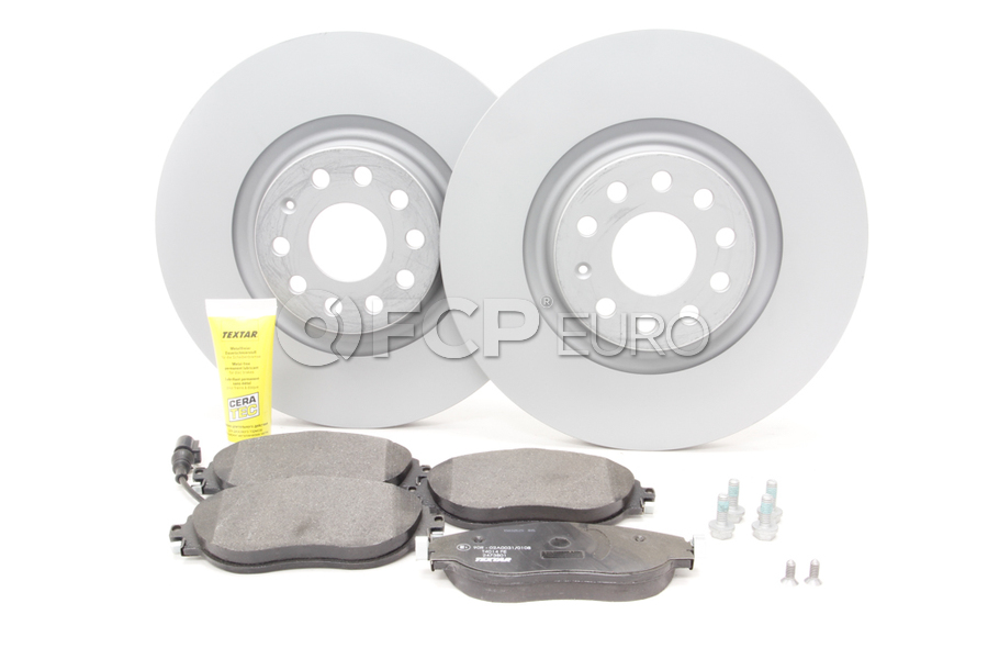 Audi VW Brake Kit - Zimmermann / Textar KIT-528825
