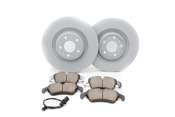Audi VW Brake Kit - Zimmermann/Akebono S4FRONTBKZIMM