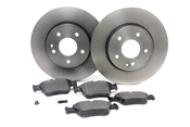 Mercedes Brake Kit - Zimmermann W202FBK2