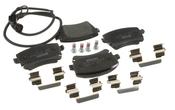 VW Brake Pad Set - Textar 3D0698451A