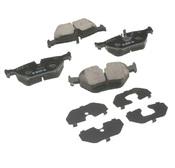 BMW Brake Pad Set - Akebono EUR396