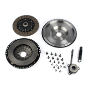 VW Stage 2 Flywheel and Clutch Kit - Black Forest Industries BFIMQBR3240ST2