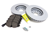 Audi VW Brake Kit - Zimmermann / Textar KIT-528847