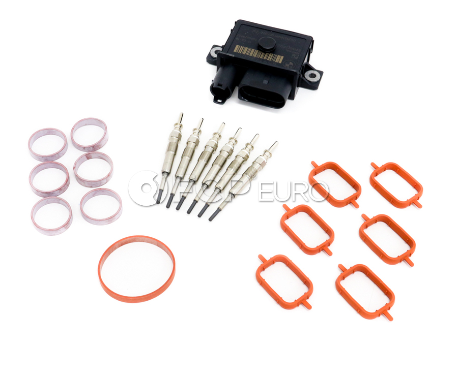 BMW Comprehensive Glow Plug Service Kit - 12237807277KT1