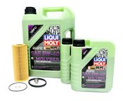 VW Audi Oil Change Kit 5W-40 - Liqui Moly Molygen KIT-06E115562C.7LM
