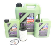 Mercedes Oil Change Kit 5W-40 - Liqui Moly Molygen 2761800009.7L