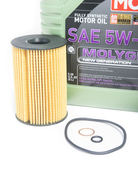 BMW Oil Change Kit 5W-40 - Liqui Moly Molygen 11427583220KT.LM