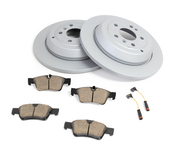 Mercedes Brake Kit - Akebono 1644231212