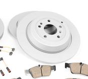 Mercede Brake Kit - Akebono 1645401017
