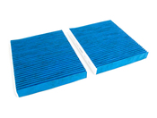 BMW Charcoal Cabin Air Filter Set - Corteco 64119272642