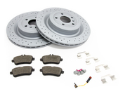 Mercedes Brake Kit - Zimmermann 1664230512