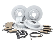 Mini Brake Kit - Zimmermann/Akebono 34111502891KTFR