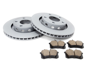 Audi Brake Kit - Zimmermann/Akebono 4D0615601BKT