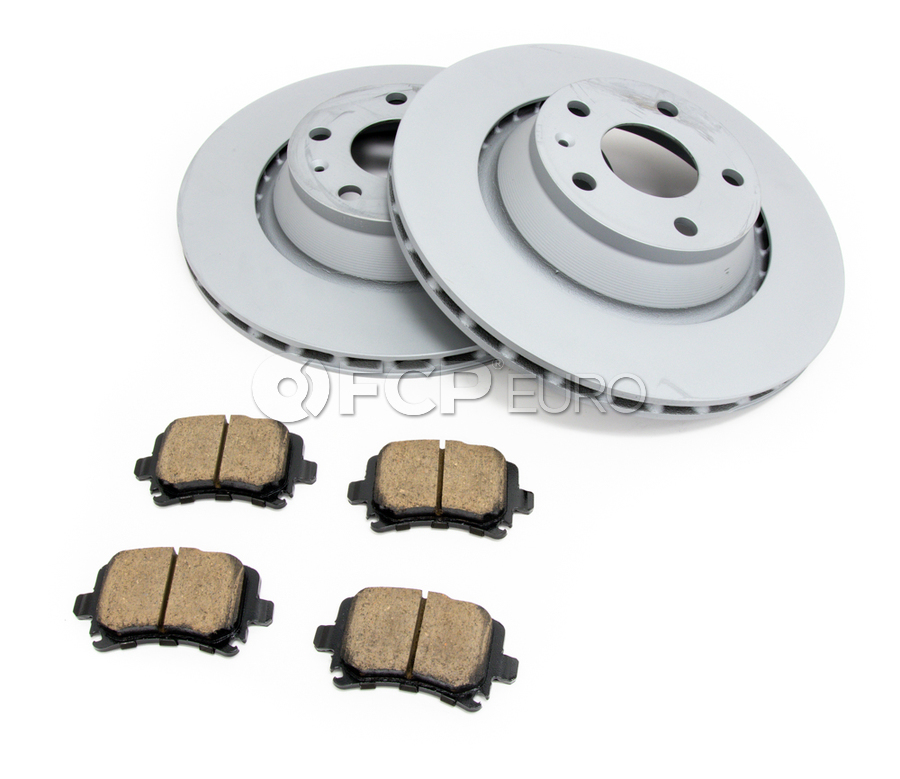 Audi VW Brake Kit - Zimmermann/Akebono 8J0615601AKT3