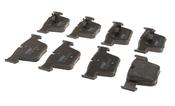 Mercedes Brake Pad Set - TRW 0044207520