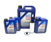 Mercedes Oil Change Kit 5W-40 - Liqui Moly 1761800800