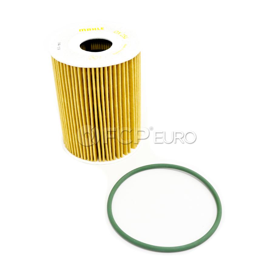Porsche Engine Oil Filter Kit - Mahle OX254D4ECO
