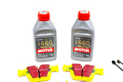 Mercedes Brake Pad Upgrade Kit - EBC Yellowstuff 0044207520