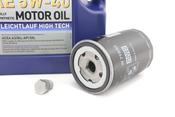 VW Audi Oil Change Kit 5W-40 - Liqui Moly KIT-06A115561B.5L