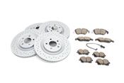 Audi Brake Kit - Zimmermann/Akebono 4H0615601QKT2