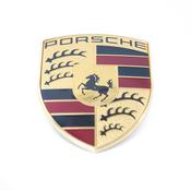 Porsche Hood Emblem - Genuine Porsche 99155921100