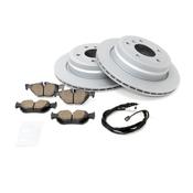 BMW Brake Kit - Zimmermann/Akebono 34216864901KTR5