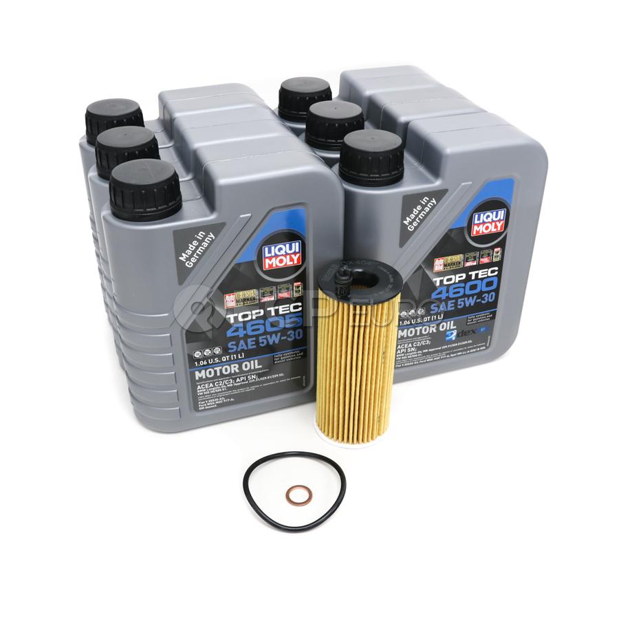 BMW Diesel Oil Change Kit 5W-30 - Liqui Moly 11428507683KT.LM.4605